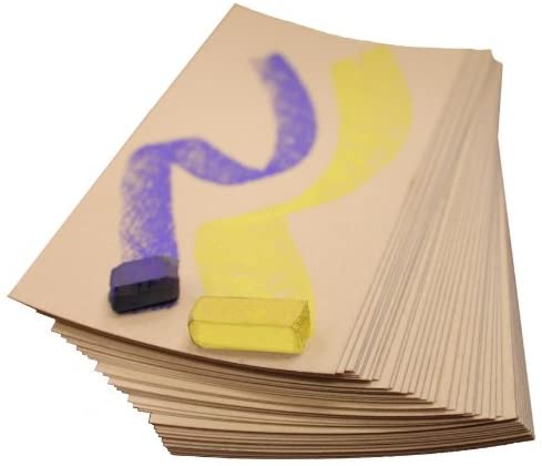 UART Sanded Pastel Paper M-151308 9-Inch/12-Inch No.800 Grade Paper, 10-Pack