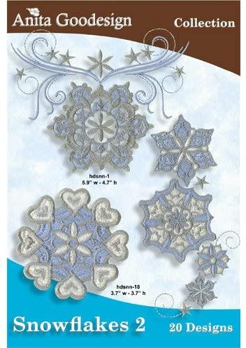 Anita Goodesign Mini Snowflakes 2 87MAGHD