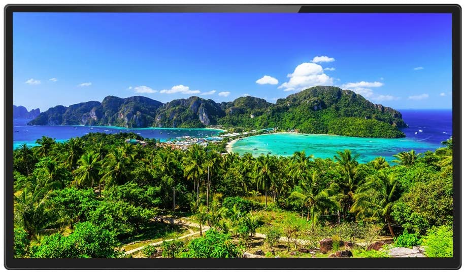 Digital Photo Frame 24 Inch LED Display Wall-Mounted Advertising Player Picture View Support SD TF U Disk
