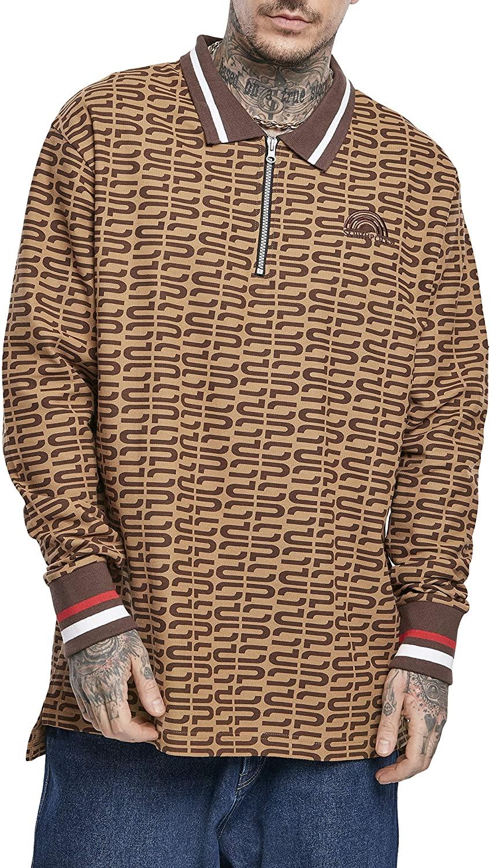 Southpole Men Sweatshirt Logo AOP