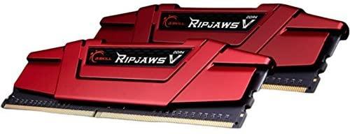 G.SKILL 16GB (2 x 8GB) Ripjaws V Series DDR4 PC4-24000 3000MHZ 288-Pin Desktop Memory Model F4-3000C14D-16GVR