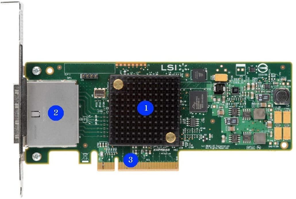 Raid Controller RS25GB008 (Renewed)