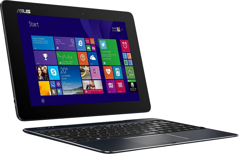 Asus Transformer Book T100-CHI-C1-BK(M) - 10.1 2-in-1 Laptop/Tablet Combo - Intel Atom Z3775/2GB RAM/64GB eMMC/Intel HD Graphics/Windows 8.1 - Dark Blue