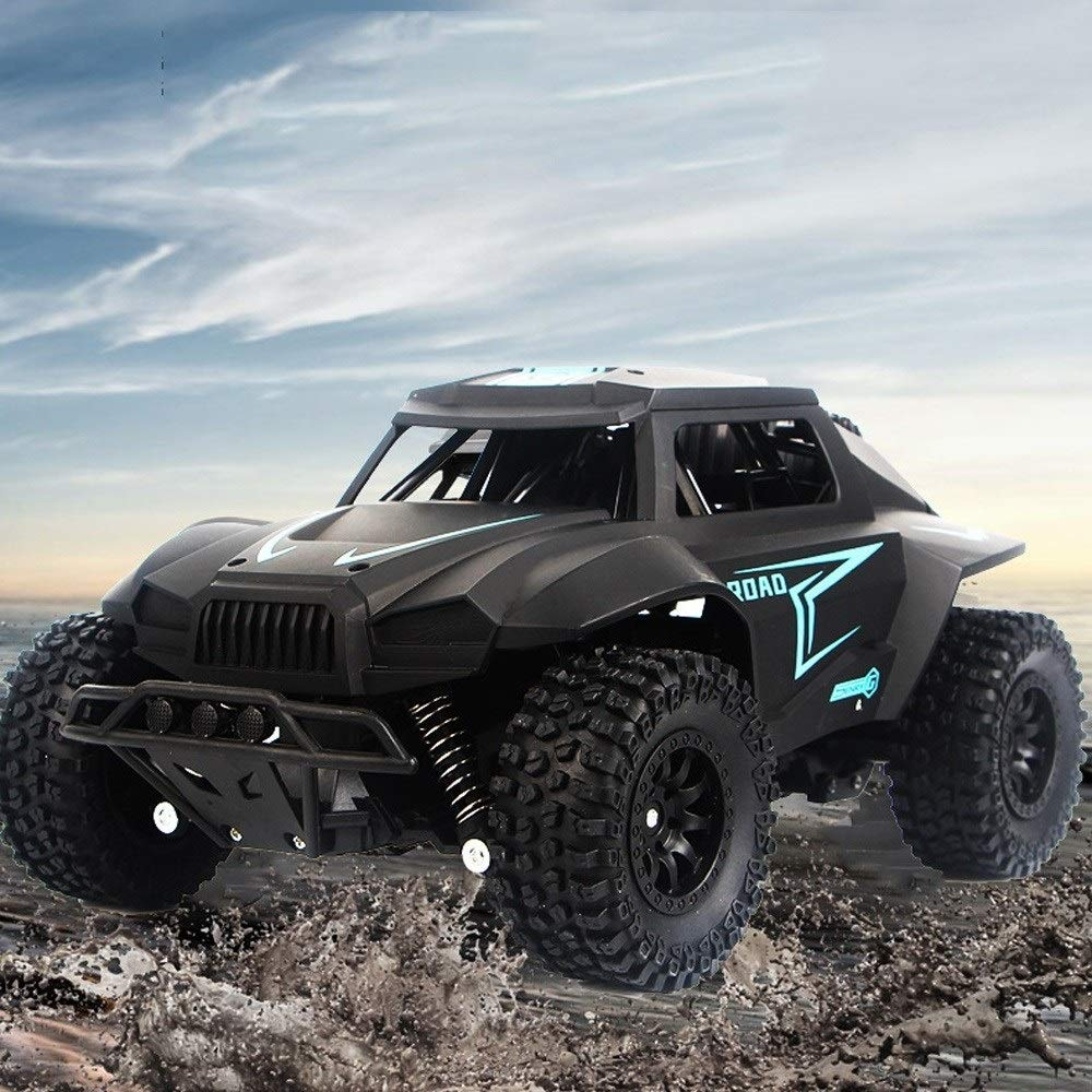 Ycco 1:12 Alloy Electric Radio Controlled Double Motors Off-road Toy Car 4WD Rock Crawlers Climbing RC Desert Truck Buggy Vehicle With LED Working Light 2.4G Remote Control Car For Boys Surprise Gifts