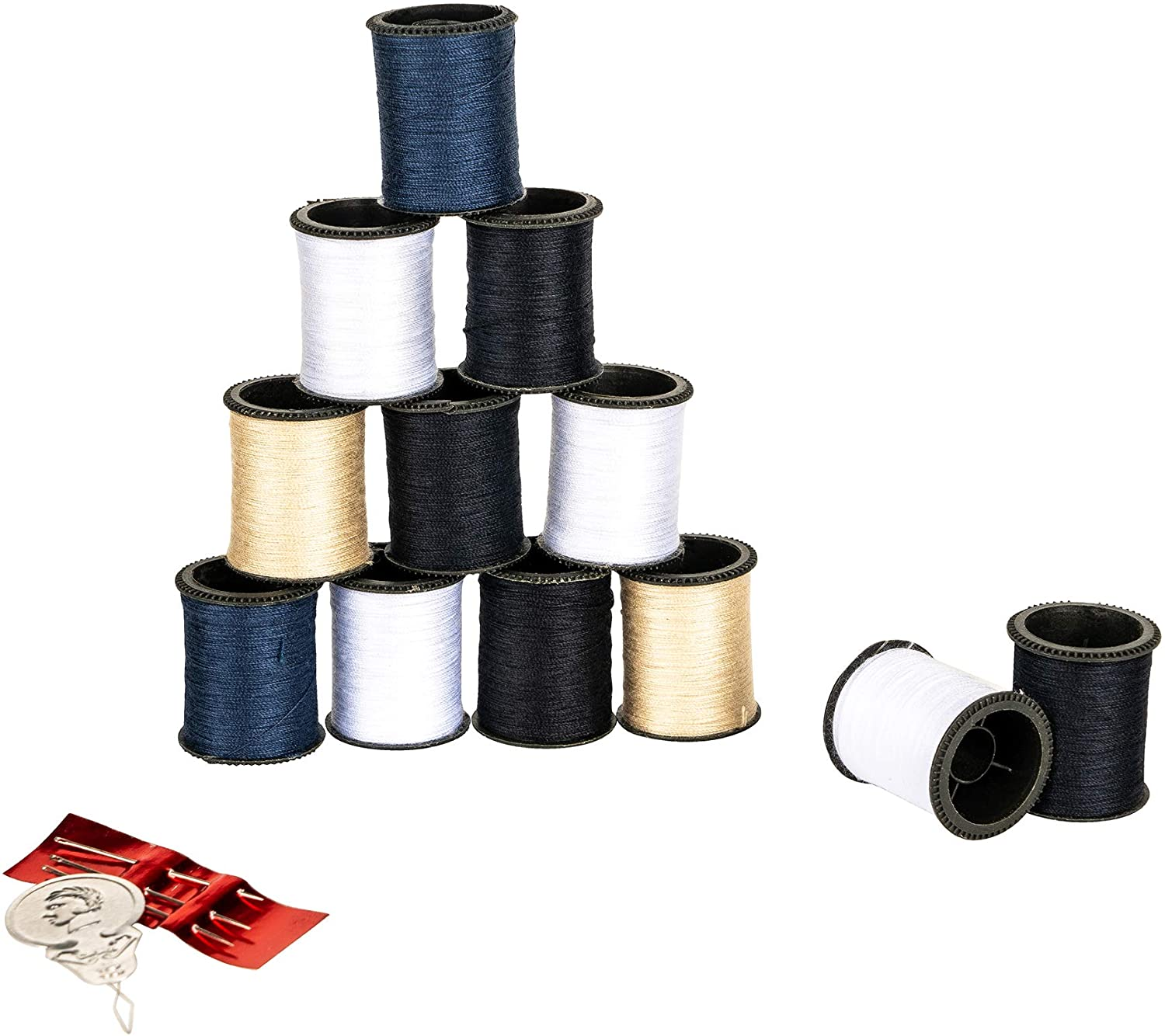 SINGER Hand Sewing Polyester Thread, Assorted