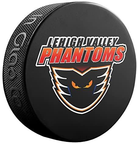 Inglasco AHL Lehigh Valley Phantoms Souvenir Pucksouvenir Puck, Black, One Size