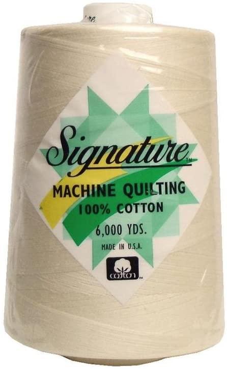 Signature Thread Signature 100% Ctn Quilt Thread 6000yd Parchment 100PercentCtnQltThrd6000Pchmt