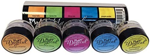 Lindy's Stamp Gang Magical Flat Set, 0.25-Ounce, Caribbean Cruise, 5-Pack