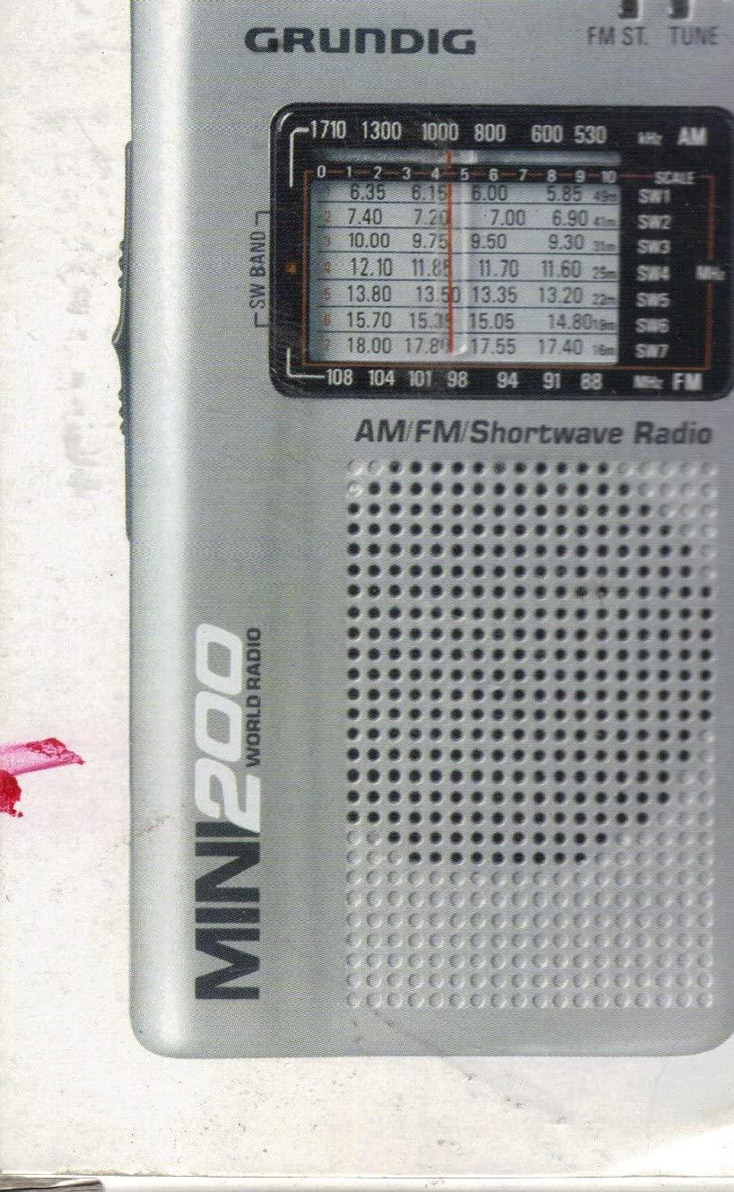 Grundig Mini 200 Am Fm Shortwave World Receiver