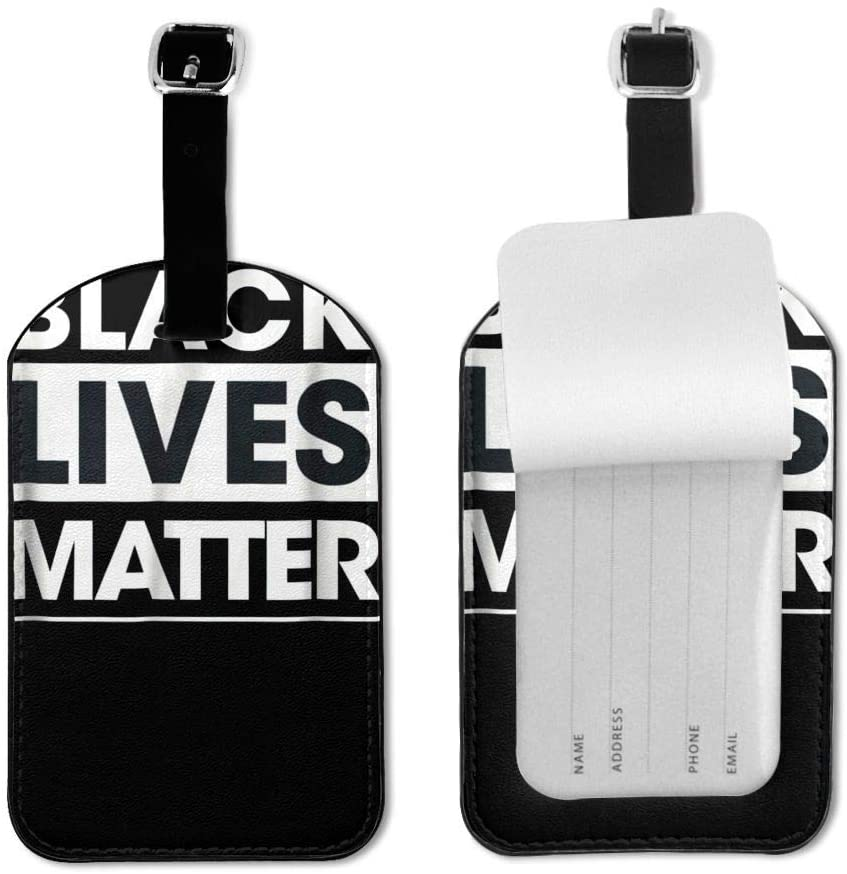 Wehoiweh Black Lives Matter Luggage Tag