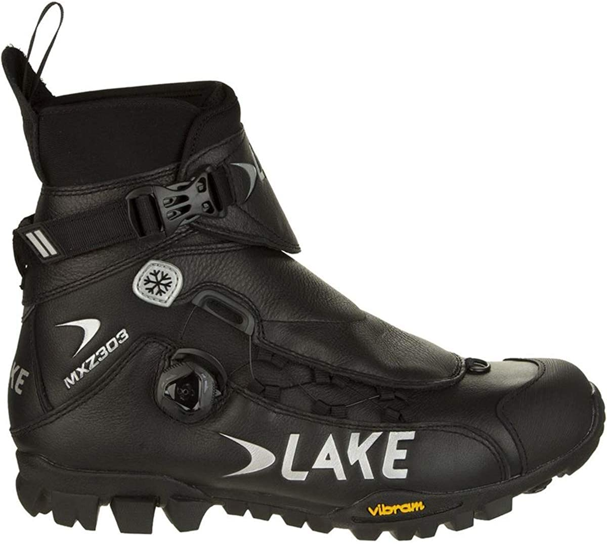 Lake Cycling MXZ303 Men's Winter Boot - Vibram Outsole - Thermosol Composite Insulated