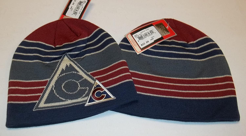 Reebok Colorado Avalanche Face Off Head Wear Knit Hat/Beanie - Adult OSFM KZQ21