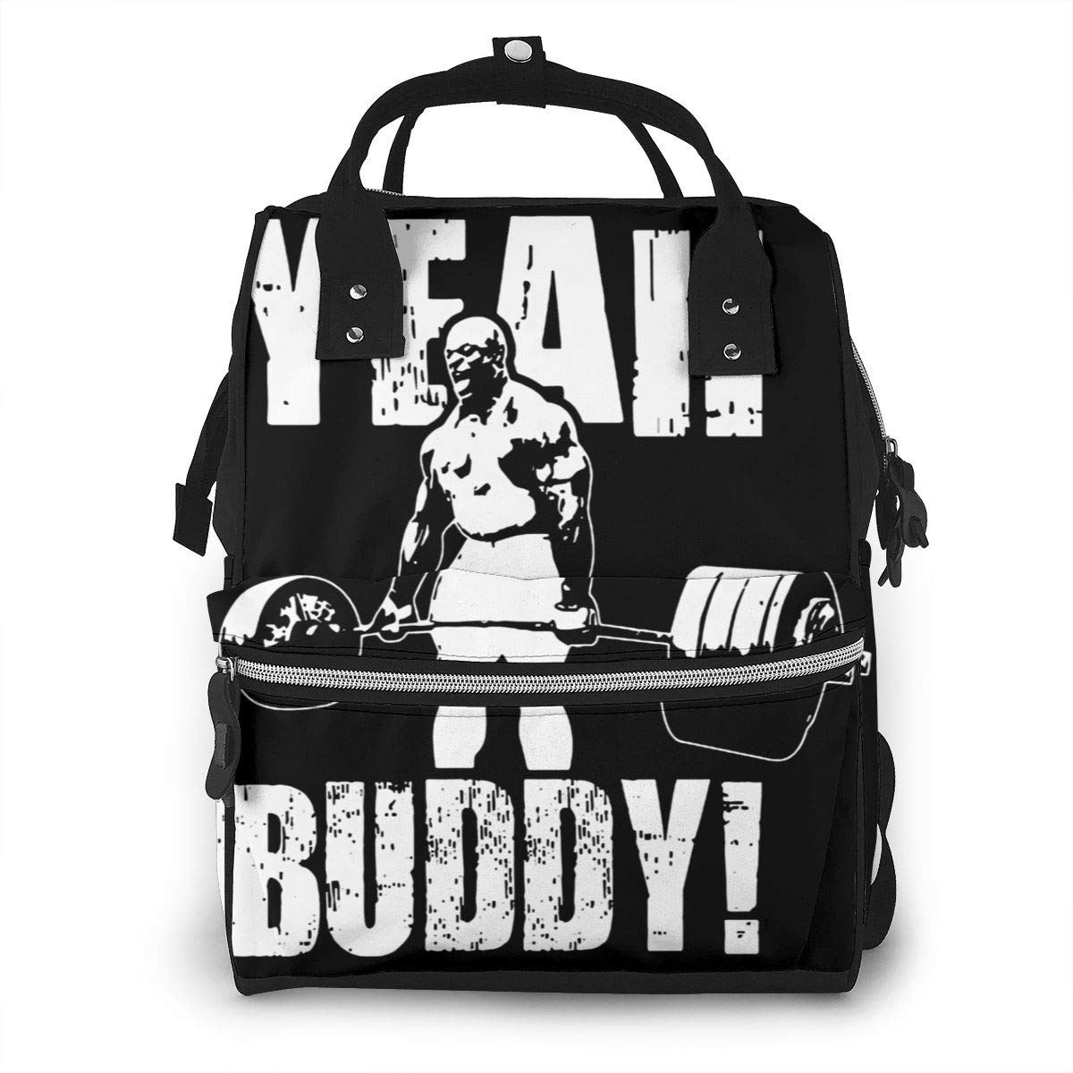 Yeah Buddy - Ronnie Coleman - 62 Personalized Design, Durable, Large Capacity, Stylish, Adjustable Strap Length.