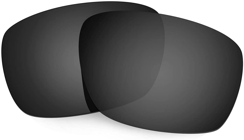 HKUCO Reinforce Replacement Lenses for Oakley Tinfoil Carbon Sunglasses Black Polarized