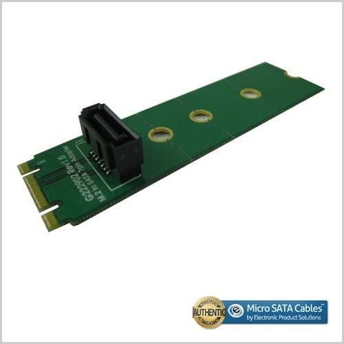 M.2 (B + M Key) Dual Notch for SATA 7 Pin Adapter