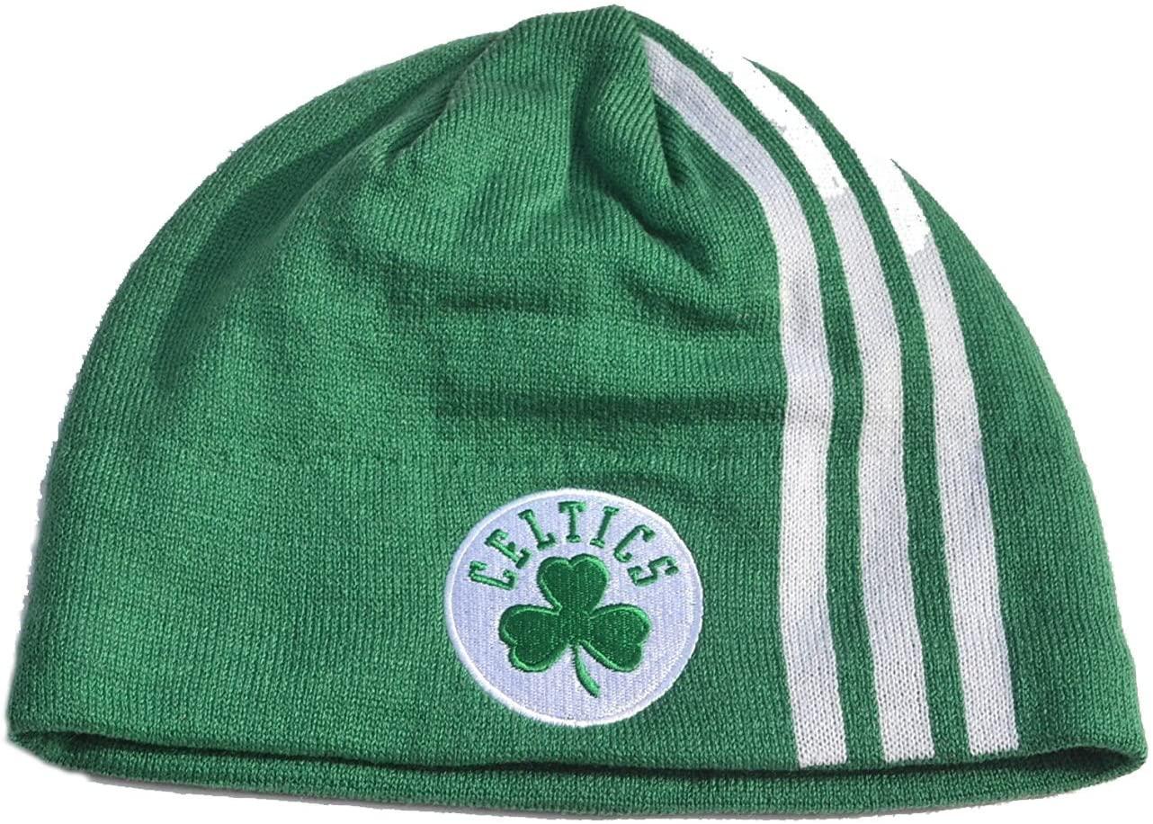 NBA Cuffless Beanie Hat - Basketball Knit Skull Toque Cap