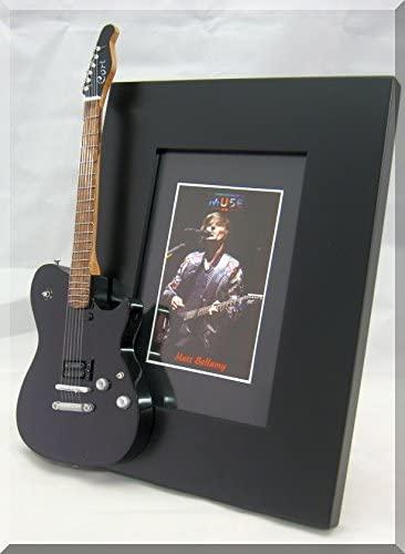 MATT BELLAMY Miniature Guitar Photo Frame MUSE 2