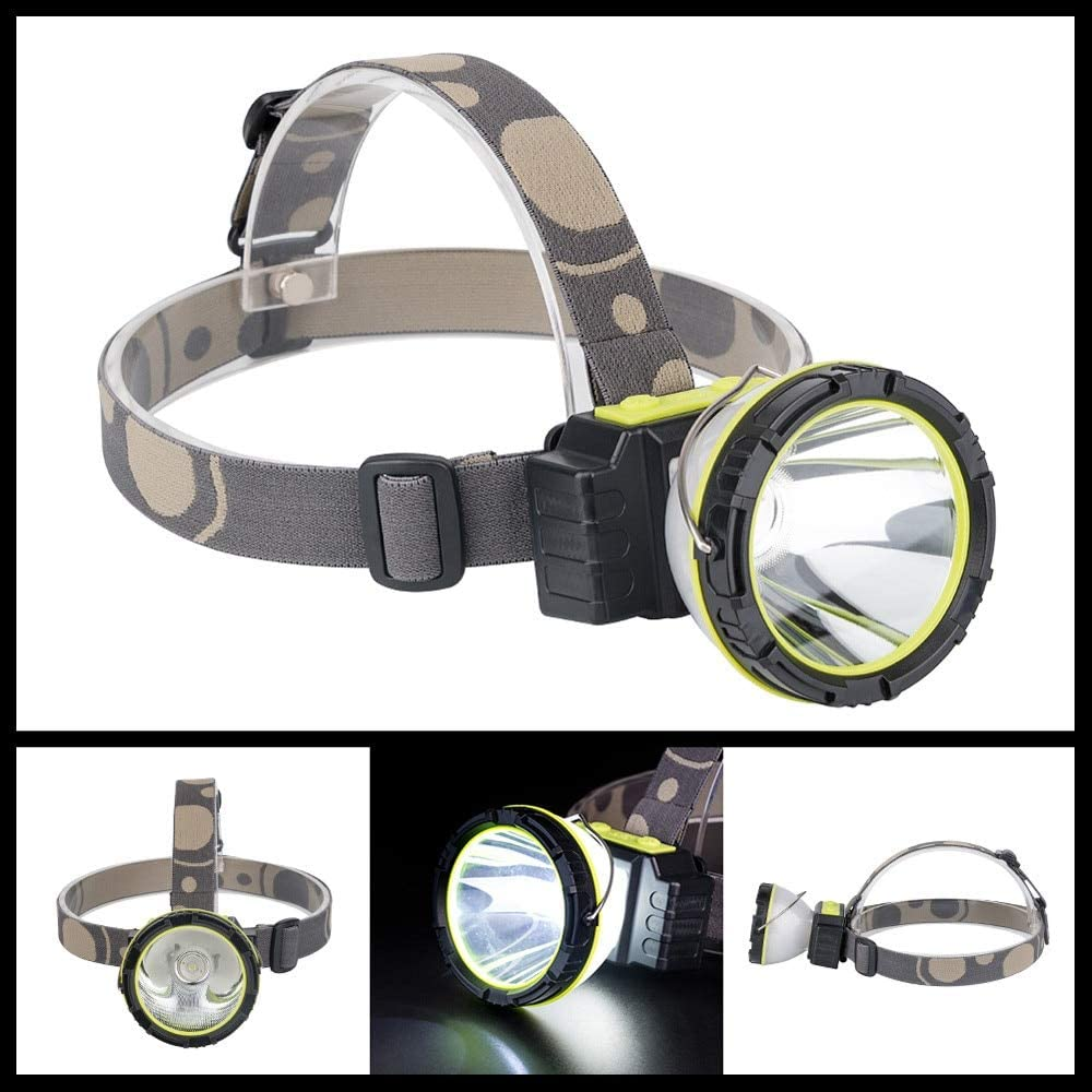 JPONLINE Ultra Bright 6-Mode Waterproof LED Headlamp+Lantern USB Rechargeable Cycling Camping Hiking Portable Durable Emergency