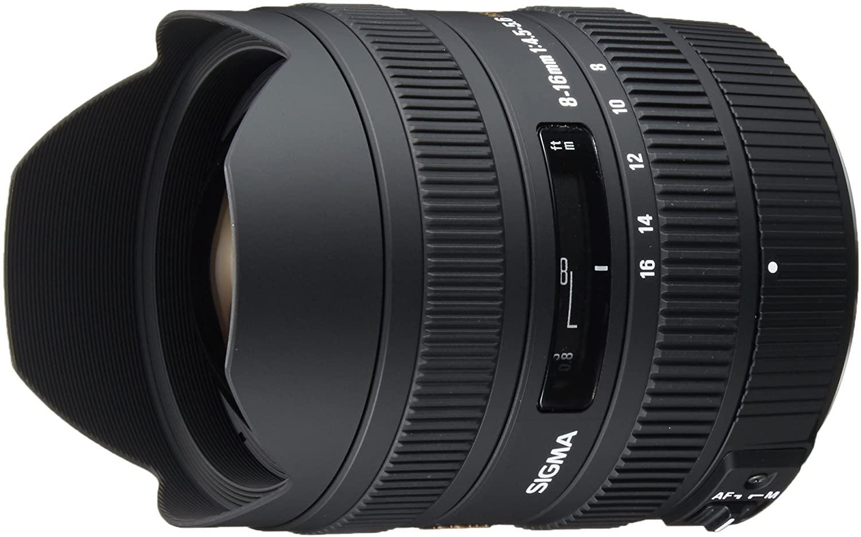 Sigma 8-16mm f/4.5-5.6 DC HSM FLD AF Ultra Wide Zoom Lens for APS-C sized Pentax Digital DSLR Camera