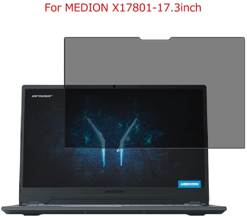 for MEDION X17801-17.3inch Laptop Screen Privacy Anti-Blue Light Protection Vision