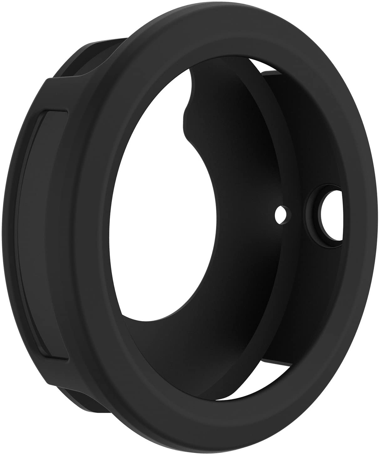FitTurn Case for Garmin Vivoactive3, Shock-Proof and Shatter-Resistant Protective Band Cover Case for Garmin Vivoactive3(Black)
