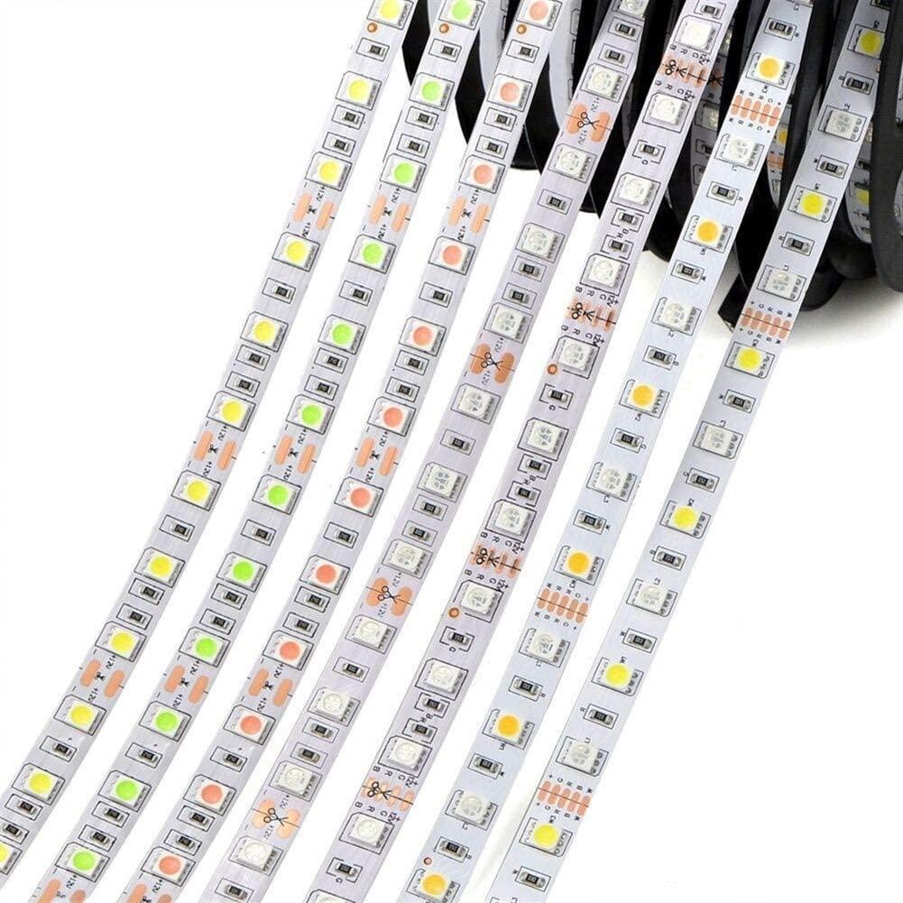 JELO Premium Led Strip Lights, Led Strip Lights with Remote 5050 RGB Led Strip Lights for Bedroom Professional & Upgraded (Color : SMD 2835, Size : RGB 5m WP)