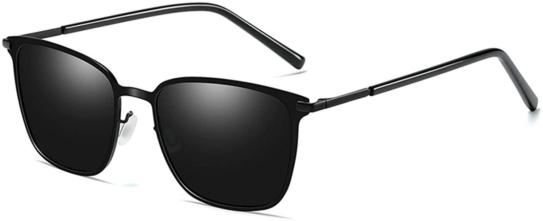 SKYWAY UV Protection Polarized Sunglasses Fashion Metal Square Sun Glasses for Man