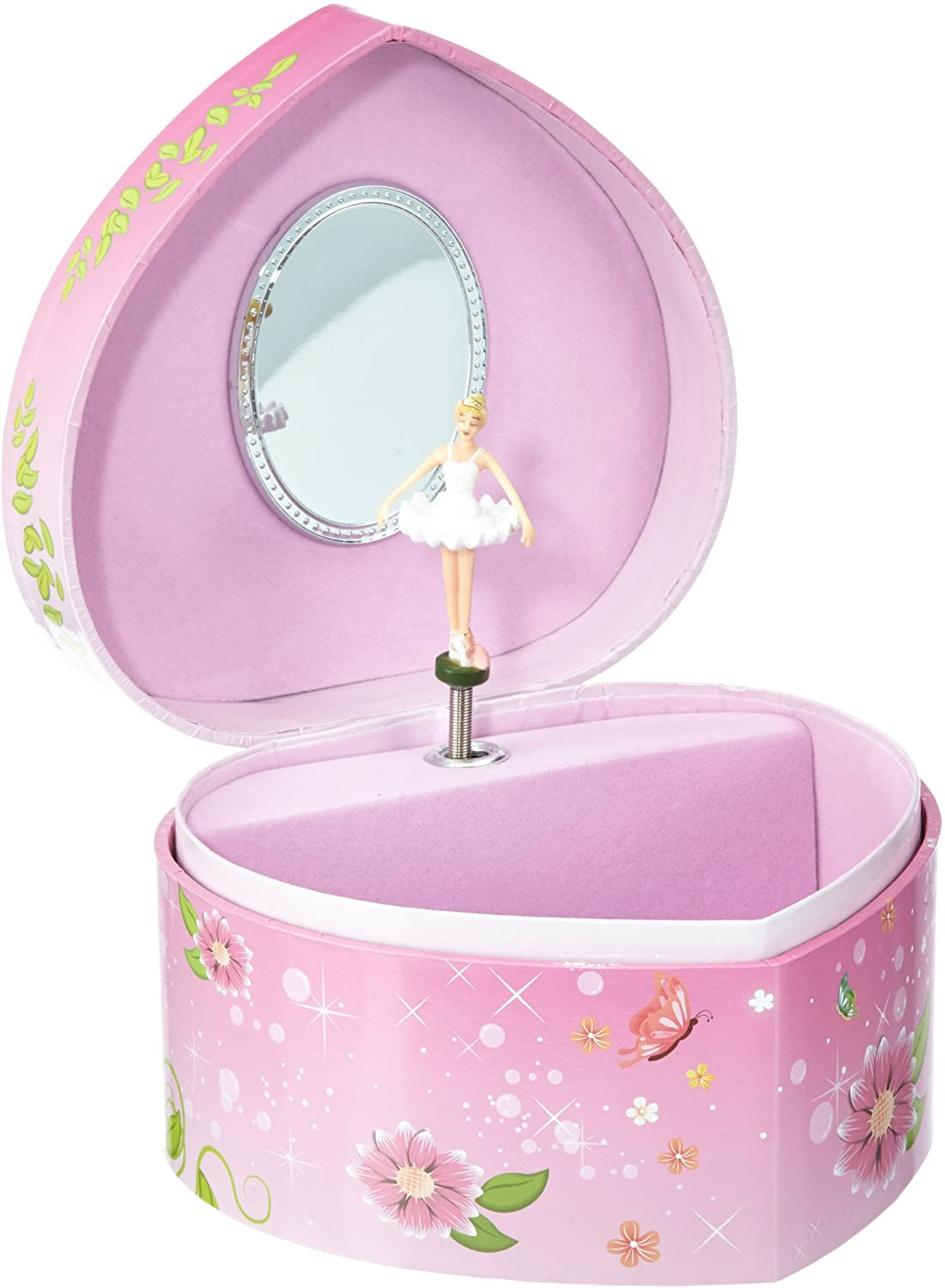 Musicbox Kingdom 22163 Ballerina Musical Jewelry Box, Playing The Melody