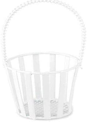 Miniature Metal Basket (1pc), Efco, Miniatures, Floristry, Hobby Paints, Decoupage