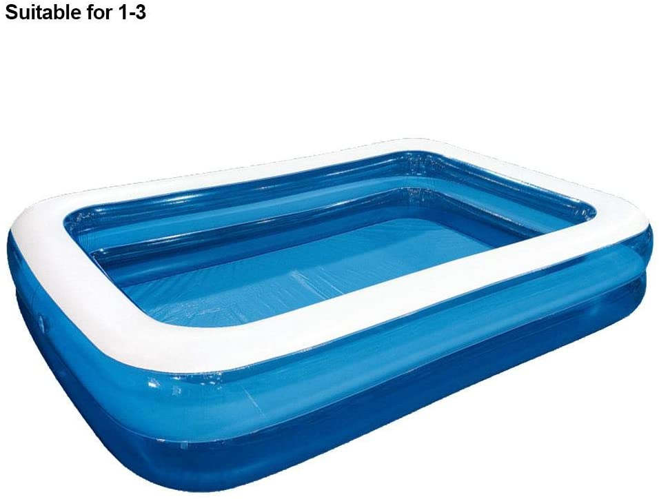 WXGY Inflatable Swimming Pools, Inflatable Kiddie Pools, Family Swimming Pool, Swim Center for Kids, Adults, Babies, Toddlers, Outdoor, Garden, Backyard,