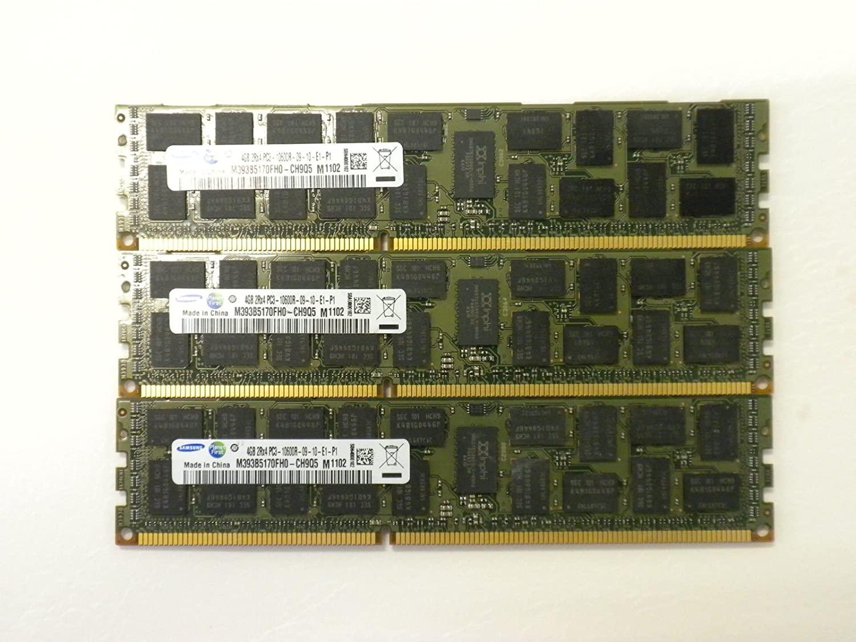 12GB 3X4GB DDR3 Memory for DELL POWEREDGE T410 T610 T710 R610 R710 R715 R815