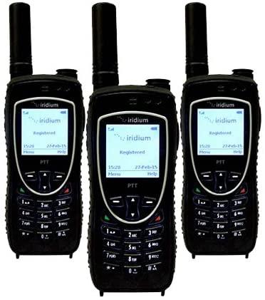 Iridium 9575 Push-to-Talk Satellite Phone - 3 Pack