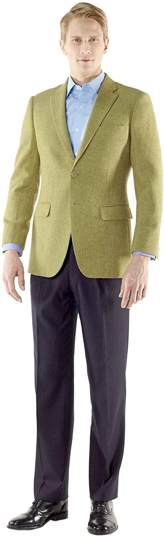 My Custom Tailor Mens Jackets & Blazers Style no.15927 tan Super 180s