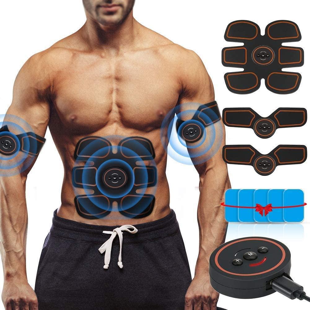 Muscle Toner Machine, Abdominal Trainer Machine, Abs Trainer For Men Women, Abdominal Trainer Muscle Toner, Abdominal Trainer For Women Men, Muscle Toner Rechargeable, Abdominal Trainer Electric