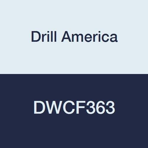 Drill America DWCF363 HSS 6FL Single End Mill, 1-3/8 x 1-1/4