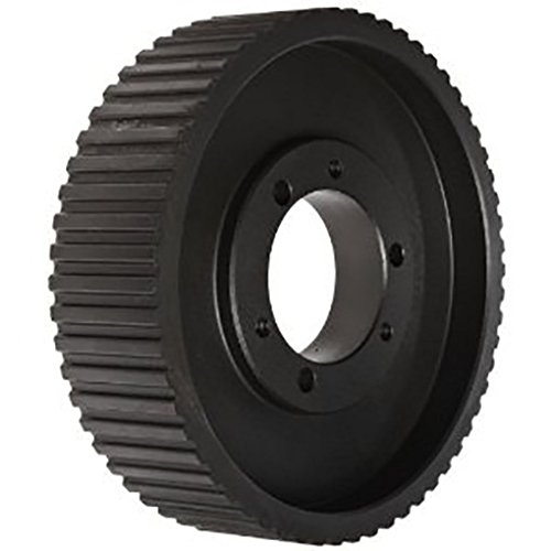 Ametric 5M112QD25.SDS Solid Construction Cast Iron HTD Timing Pulley without flanges for QD Bush, For 5M Pitch X 25 mm Wide HTD Belt,Bored for SDS QD Bush, 112 Teeth, 7.018 Inch Pitch Dia., 6.973 Inch Outside Dia.(OD), 1.23 Face Width(F), (1-009)