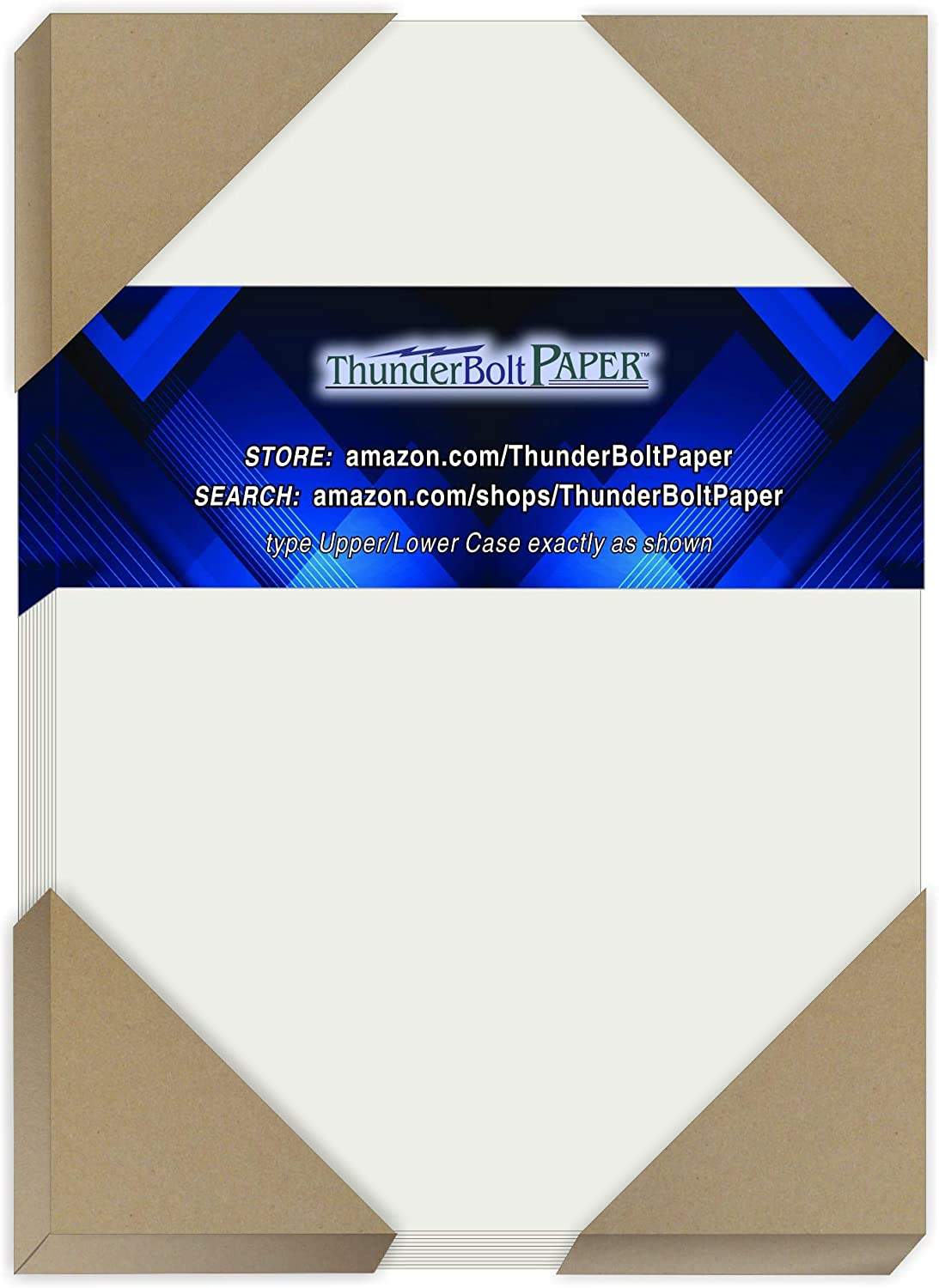 100 Soft Off-White Translucent 17# Thin Sheets - 4.5 X 6.25 Inches Craft|Invitation Card Size - 17 lb/pound Light Weight Fine Quality Paper - Tracing, Fun or Formal Use - Not a Clear Transparent