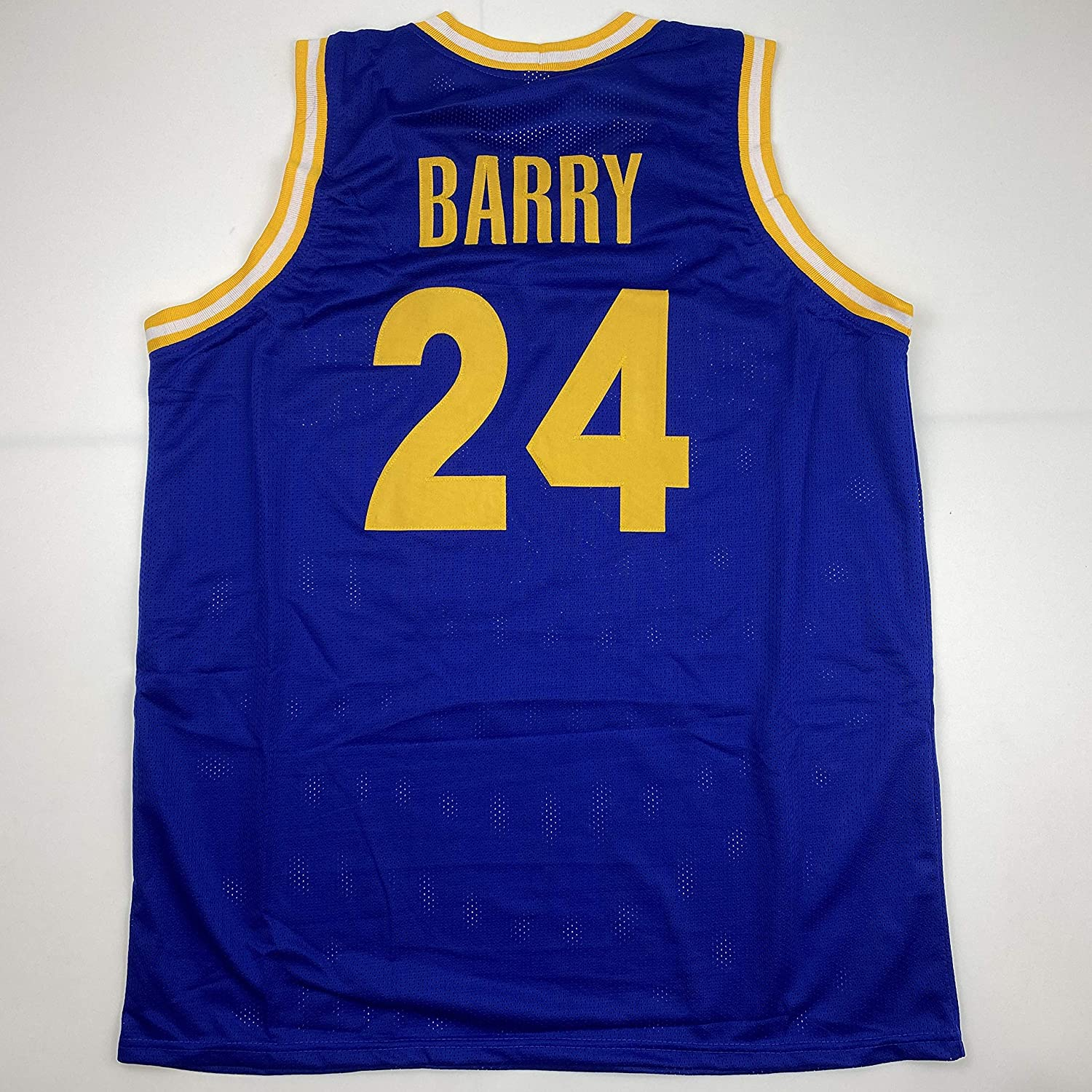 Unsigned Rick Barry Golden State Blue Custom Stitched Basketball Jersey Size Mens XL New No Brands/Logos