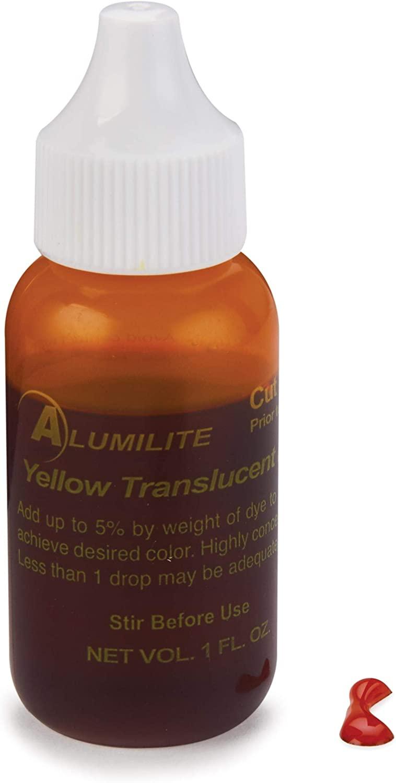 Alumilite Dye, 1 Ounce, Yellow