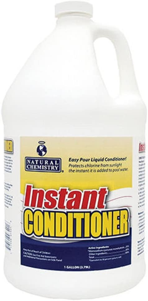 Natural Chemistry 7401 1 Gallon Liquid Swimming Pool Stabilizer and Conditioner