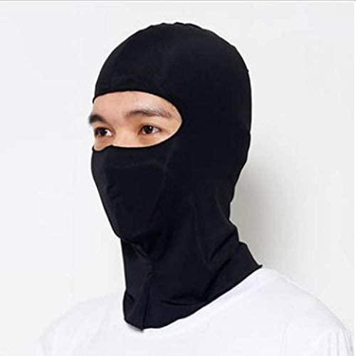 NJJW Shi Unisex Children Youth Men Women Synthetic Silk Ultra Thin Caloric Ski Cs Face Mask Hood Helmet Protection Balaclava Hat Headwear