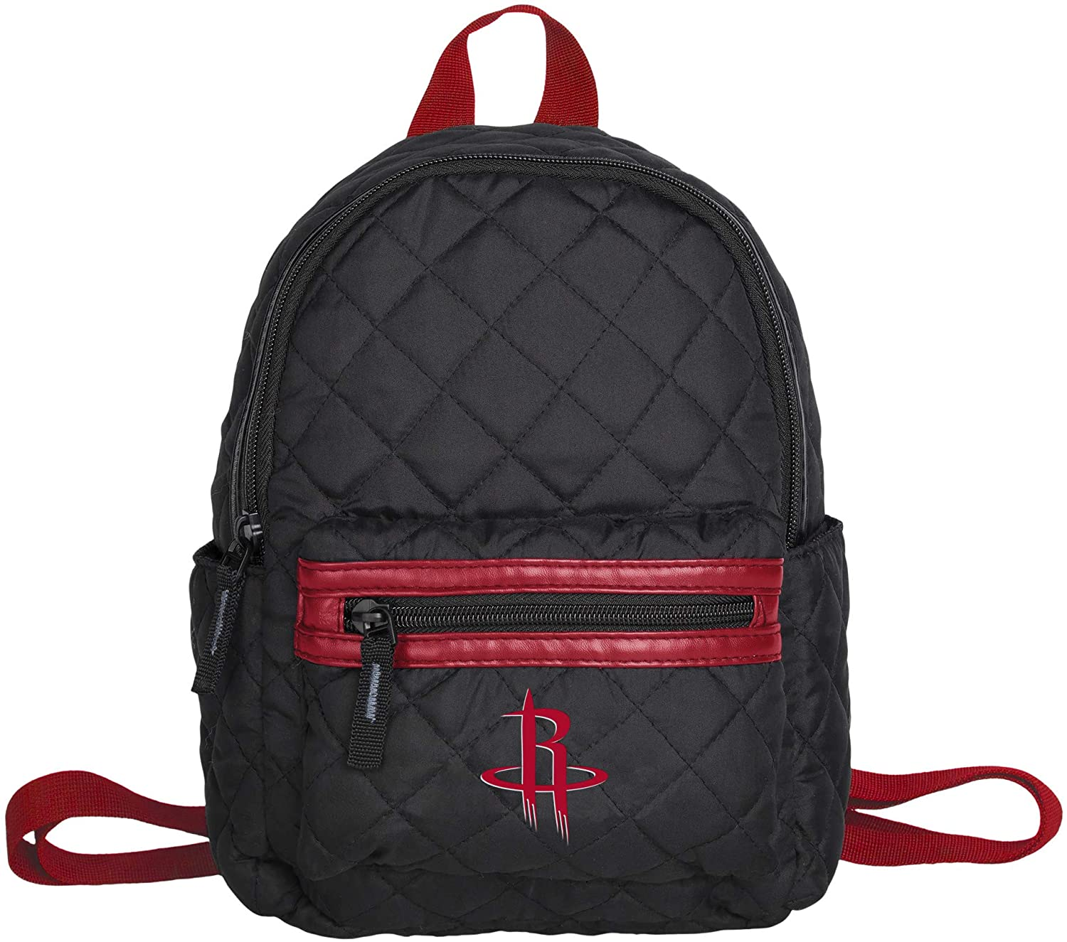 FOCO NBA Unisex Black Quilted Mini Backpack