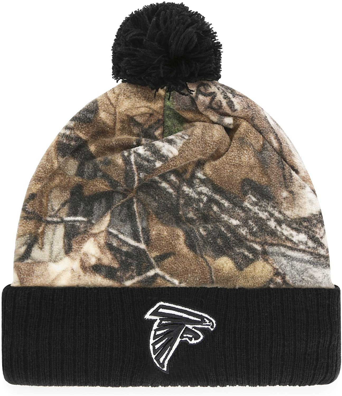 NFL Men's OTS Greyson Cuff Knit Cap with Pom