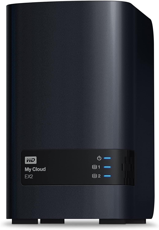 WD 6TB My Cloud EX2 Network Attached Storage - NAS - WDBVKW0060JCH-NESN