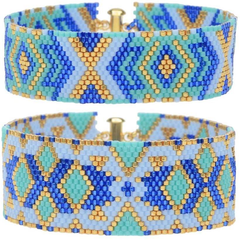 Beadaholique Odd Count Peyote Duo Bracelets - Athena - Exclusive Jewelry Kit