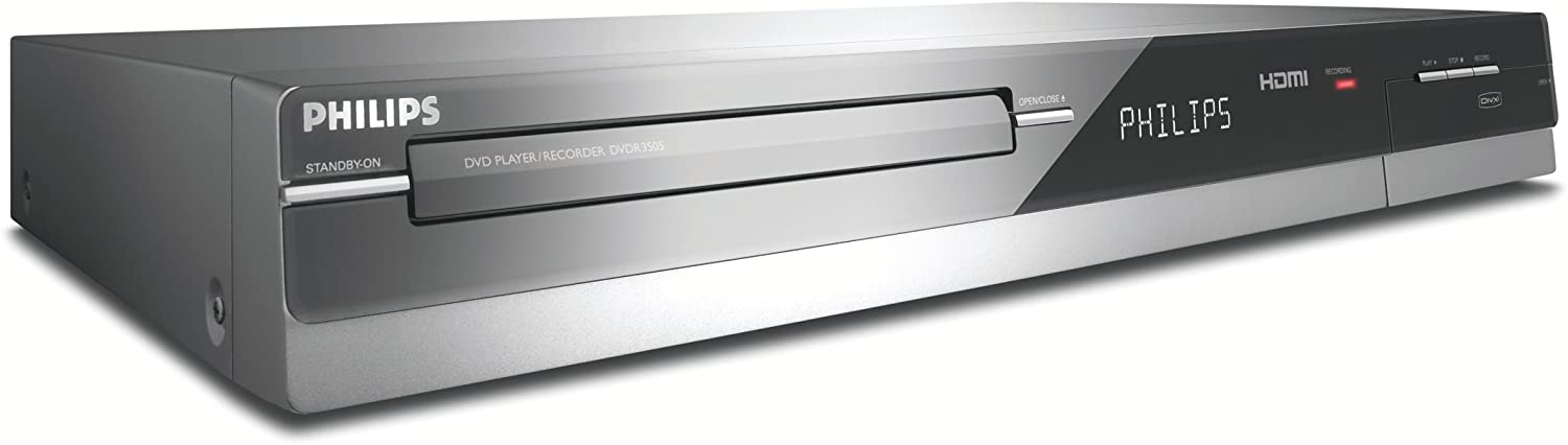 Philips DVDR3505/37 1080i Upscaling DVD Recorder with Built-In Tuner