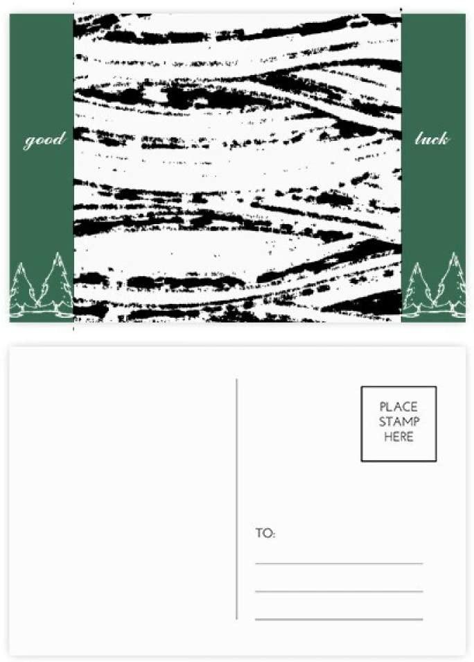 Brushwork Irregular Texture Good Luck Postcard Set Card Mailing Side 20pcs