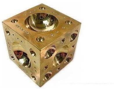 DAPPING BLOCK brass jewelers doming tool 2