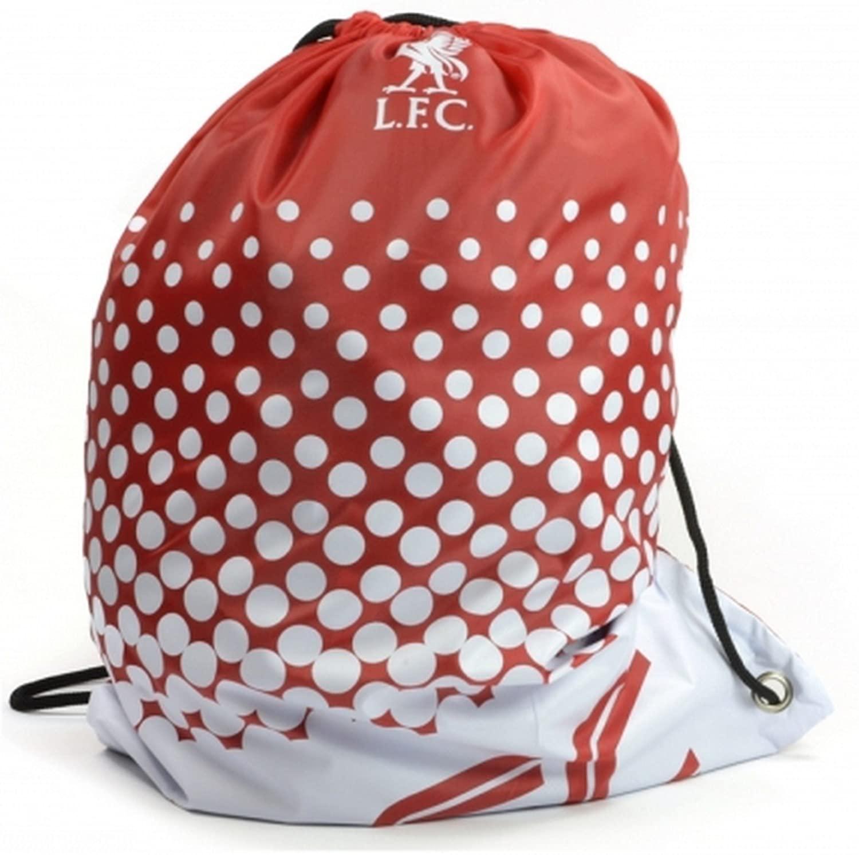 Liverpool FC Official Soccer Fade Design Gym Bag