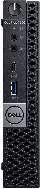 Dell OP7060MFF1WG0D OptiPlex 7060 Micro PC with Intel Core i5-8500T 2.1 GHz Hexa-core, 8GB RAM, 500GB HDD, Windows 10 Pro 64-bit (Certified Refurbished)